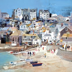 Pinch of Salt by Tom Butler - Limited Edition on Paper sized 18x18 inches. Available from Whitewall Galleries